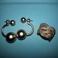 Отдается в дар Серьги и кольцо