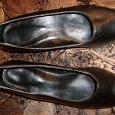 Отдается в дар туфли черные, новые, размер 38
