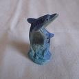 Отдается в дар Фигурка керамическая Дельфин