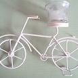 Отдается в дар Подсвечник велосипед