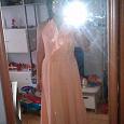 Отдается в дар платье оранжевое 46 раз