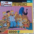 Отдается в дар пазл Симпсоны на 1000 деталей