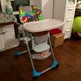 Отдается в дар Детский стул для кормления Chicco