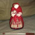 Отдается в дар Кукла-оберег текстильная