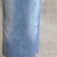 Отдается в дар Фирменная джинсовая юбка «в пол» сзади с карманами размер 12