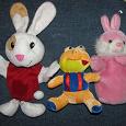 Отдается в дар мягкие игрушки (в т.ч. куклы на руку)