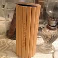 Отдается в дар баночка для чая бамбуковая