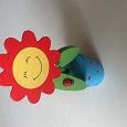 Отдается в дар деревянная игрушка-неваляшка Цветок