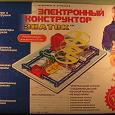 Отдается в дар Электронный конструктор Знаток