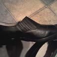 Отдается в дар ботинки мужские новые 40-41 р.