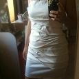 Отдается в дар платье кремовое 42-44