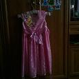 Отдается в дар розовое платье для девочки 116-122 см рост