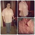 Отдается в дар Блуза розовая 52-54