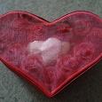 Отдается в дар Шкатулка в форме сердца