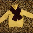 Отдается в дар Свитер, шарф детские