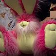 Отдается в дар Мягкая игрушка «Заяц малиновый»