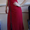 Отдается в дар Платье красное праздничное