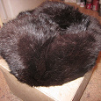 Отдается в дар Меховая шапка-ушанка (кролик). Разм. 55-56.