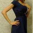 Отдается в дар Синее платье 40-42
