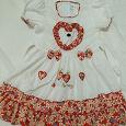 Отдается в дар Платье для девочки 5-6 лет