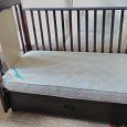 Отдается в дар Детская кроватка маятник papaloni vitalia 125x65см