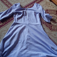 Отдается в дар Сиреневое платье L-ка