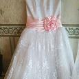 Отдается в дар Короткое свадебное платье, 44 размер