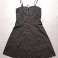 Отдается в дар Черное вечернее платье размер L