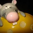 Отдается в дар Копилка Мышь с сыром