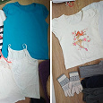 Отдается в дар Пакет одежды на девочку 10-13 лет