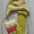 Отдается в дар Комплект детский шапка+шарф «Sela»