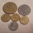 Отдается в дар Монеты Украины погодка