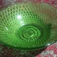 Отдается в дар Салатник стекло зеленого цвета