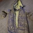 Отдается в дар зимнее пальто для девочки 122