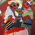 Отдается в дар Шапки шарфы варежки