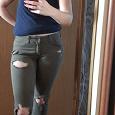 Отдается в дар Рваные джинсы