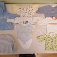 Отдается в дар Пакет одежды для девочки 0-3 месяца