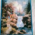 Отдается в дар Схема вышивки «Идиллический водопад»