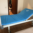 Отдается в дар Кровать медицинская с поднимающейся спинкой