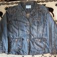 Отдается в дар Рубашка женская джинсовая, размер 52 — 54