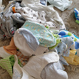 Отдается в дар пакет детских домашних вещей до года