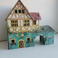 Отдается в дар Сборные модели домиков из картона