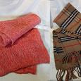Отдается в дар Мужские шарфы и капюшон.