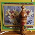 Отдается в дар Деревянный футляр от розового масла из Болгарии