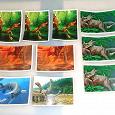 Отдается в дар «Смотри, динозавры!» наклейки из Дикси