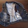 Отдается в дар Жилет джинсовый, р-р128