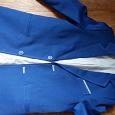 Отдается в дар Синий пиджак 42 р