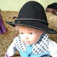 Отдается в дар Шляпа женская на маленькую голову