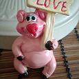 Отдается в дар Керамическая свинка