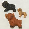 Отдается в дар Игрушечные фигурки домашних животных времён СССР